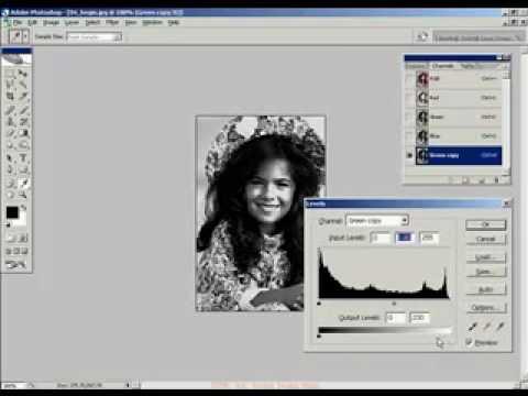 Xu ly anh nang cao 4 HocPhotoshop.Com Xử lý hình bị lác