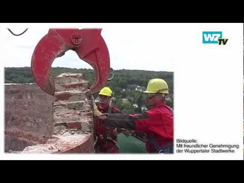 WZ-TV: Der schrumpfende Turm von Barmen, Abriss am Heizkraftwerk
