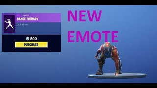 Dance Therapy! BRAND NEW FORTNITE DANCE MP3 DOWNLOAD!