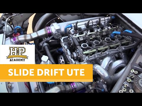 Technical Tour of the Engineered To Slide Drift Ute | High Performance Academy