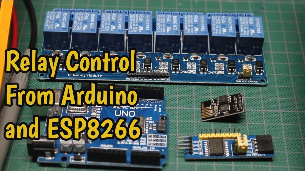 How to Use 5 Volt Relay Modules with Arduino and ESP8266