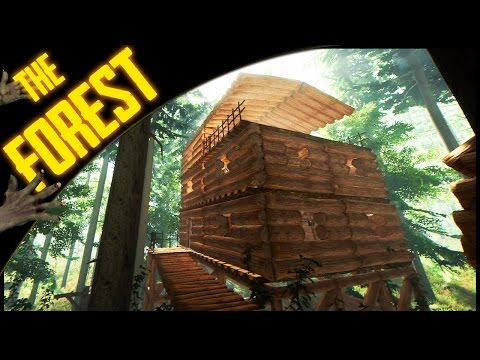 The Forest | Part 90 | ATTACK ON OUR NEW HOME! (UPDATE 0.33)