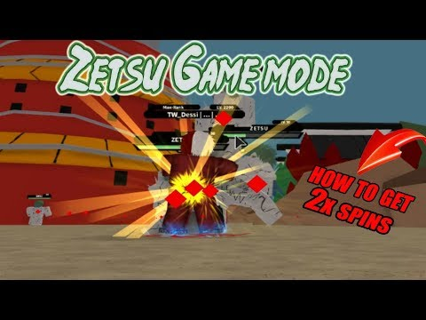 NRPG Beyond How to get 2x Spins, Zetsu Game Mode