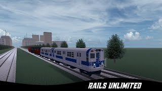 Roblox: Rails Unlimited - Rainbow Subway!