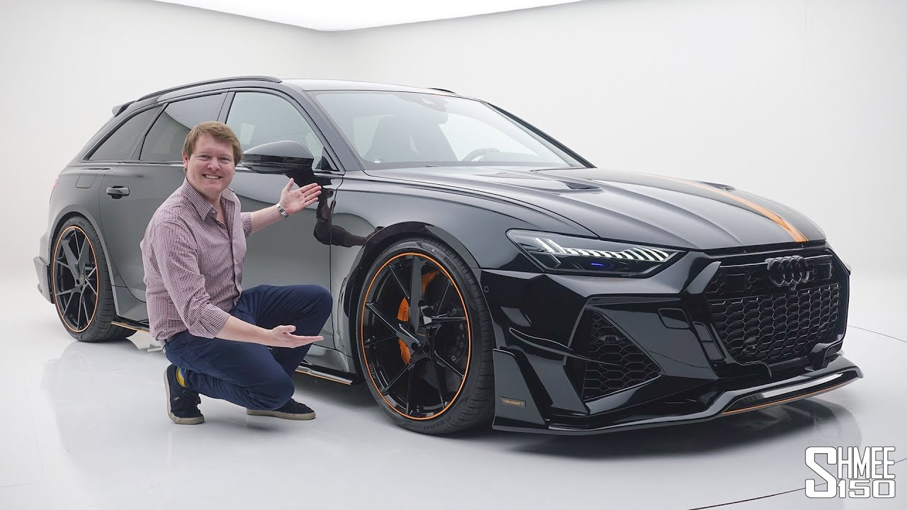 The New MANSORY AUDI RS4 is the Perfect Super Wagon!  FIRST LOOK