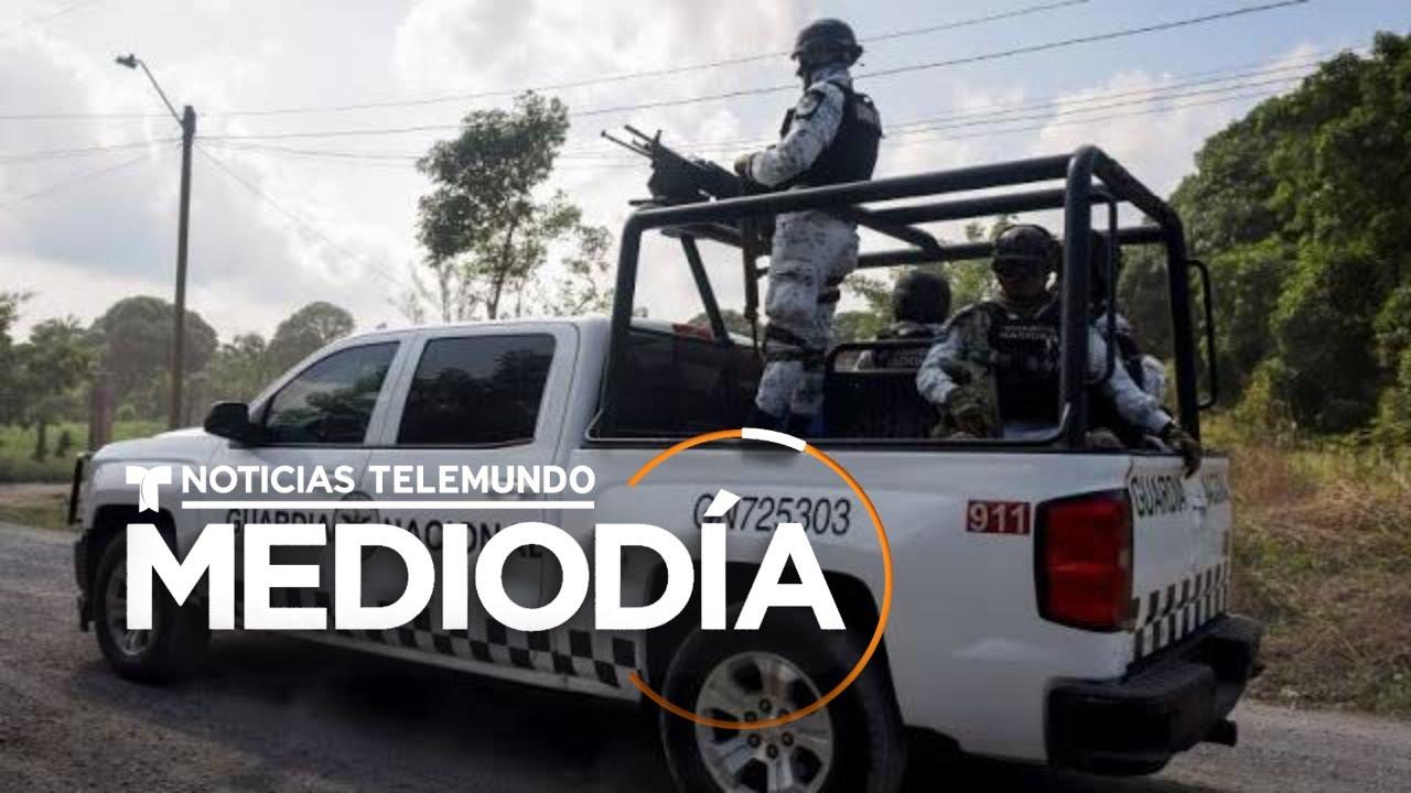 Graban a guardias nacionales extorsionando a comerciantes | Noticias Telemundo