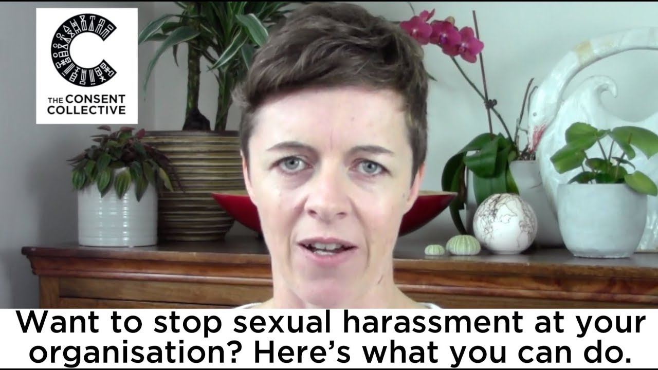 Want to stop sexual harassment at your organisation? Here's what you can do