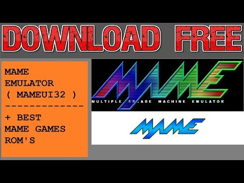 Download Mame Emulator + 483 Best Arcade Games 2018 - YouTube