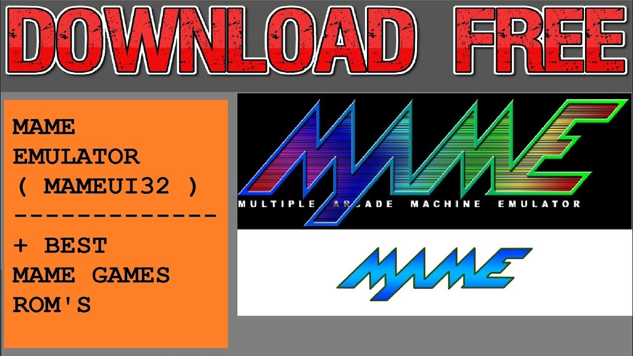Download Mame Emulator + 483 Best Arcade Games 2018