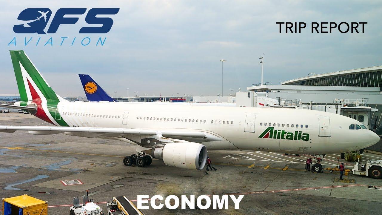 Download TRIP REPORT   Alitalia - A330 200 - New York (JFK) to Rome (FCO)   Economy