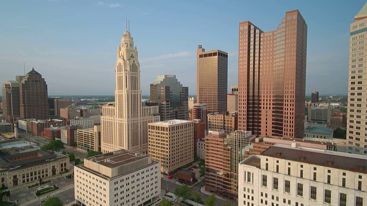 360° View Of Downtown Columbus Ohio