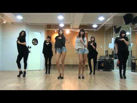 SISTAR19 'Gone Not Around Any Longer' mirrored Dance Practice.