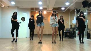Repeat youtube video SISTAR19 'Gone Not Around Any Longer' mirrored Dance Practice.