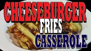 Episode114 - Rv Cooking - Cheeseburger Fries Casserole - The Boondocking Bears