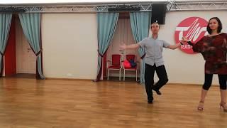 Урок 92. Дорожка шагов в танго. Танцующие Танго.