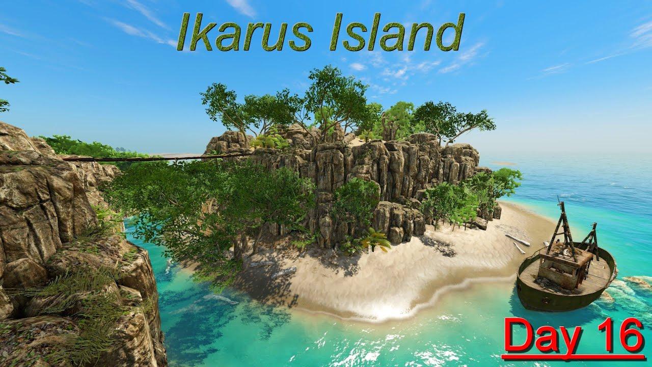 Cкачать мод big island на stranded deep и исследовать.