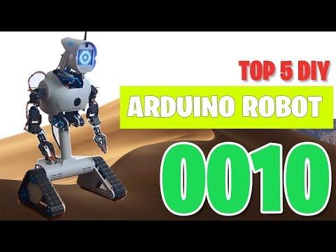 TOP 5 DIY Arduino Robot 2