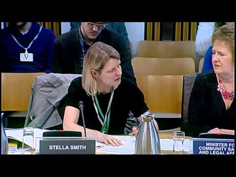 Justice Committee - Scottish Parliament: 3rd June 2014