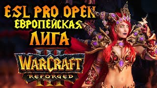 Жесткая заруба среди европейцев в Warcraft 3 Reforged. ESL Pro Open #3