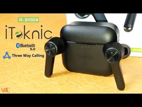 iTeknic IK BH004 Unboxing & Review - Bluetooth 5.0 | Three Way Calling | TWS Earbuds - Stereo Sound