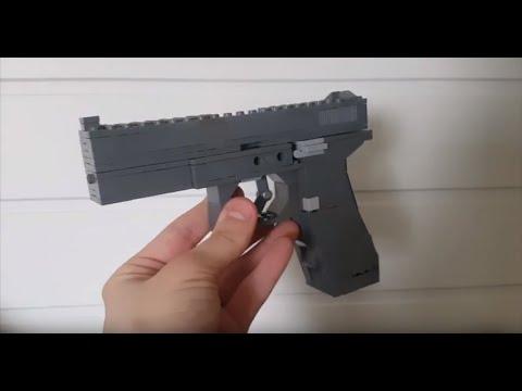 Lego Glock 17 Tutorial Jims Lego Guns Youtube