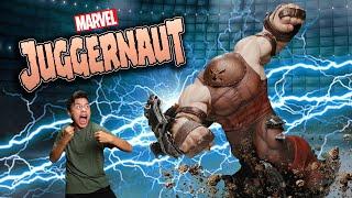 THE UNSTOPPABLE JUGGERNAUT!!! Unboxing the Sideshow Juggernaut EX Maquette