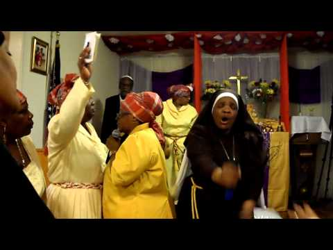 St. Mary's Spiritual Church 7th Annual All Nations Fellowship Service 2/18/2013 #8