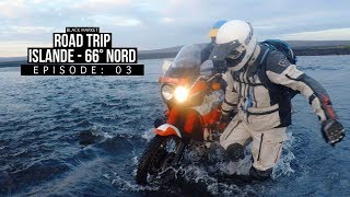 BLKMRKT - On traverse plusieurs rivières à moto en Islande - [ ISLANDE 66° NORD EP03 ]