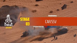 Dakar 2020 - Stage 3 (Neom / Neom) - Car/SSV Summary
