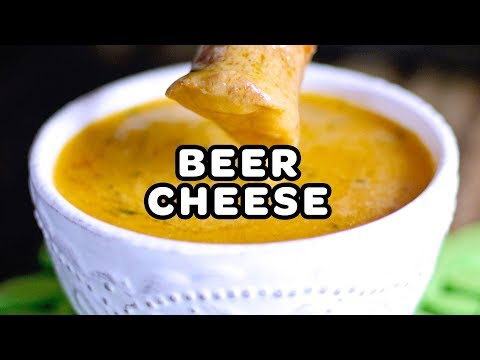 aussie onion  cheese  beer dip