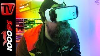 Virtual Reality Brille: ZX-10R mit Jonathan Rea fahren. Irre!!!