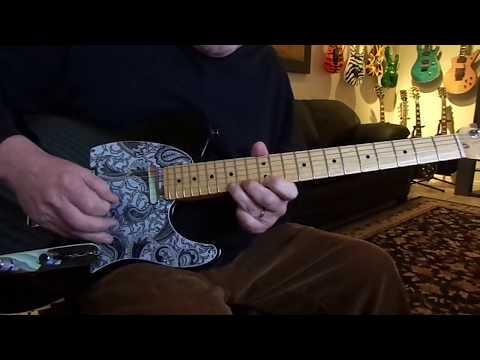 Bryan Adams Heaven Guitar solo w/ backing track
