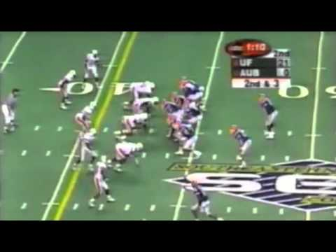2000 SEC Championship Game: #8 Florida Gators vs. #17 Auburn Tigers