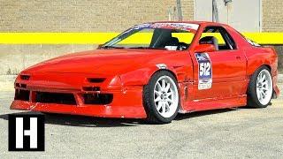 V8 RX-7 Gets Rowdy for Secret Shredhouse Austin Finale