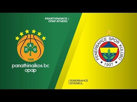 Panathinaikos OPAP Athens - Fenerbahce Istanbul Highlights | Turkish Airlines Eu