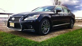 2014 Lexus LS F SPORT - TestDriveNow.com Review by Auto Critic Steve Hammes