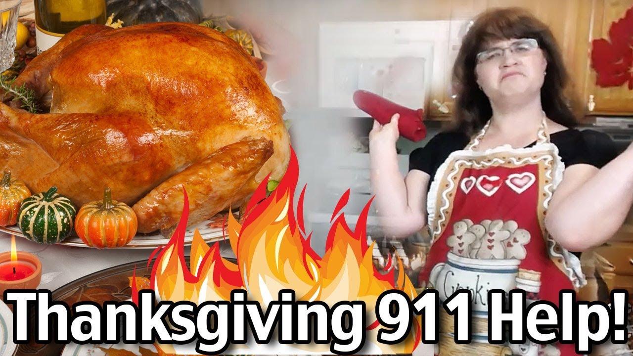 Thanksgiving 911 - Last Minute Thanksgiving Food Help!