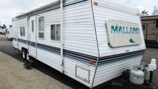 Sold Haylettrv Com 1999 Mallard 29rs Used Bunkhouse Travel Trailer By Fleetwood Rv Youtube