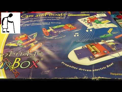 CSGOG Cambridge Brain Box Cars and Boats Electronics Kit
