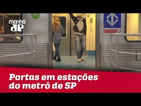 Metrô De SP Deve Instalar Portas De Segurança Em Estações Para Evitar Acidentes