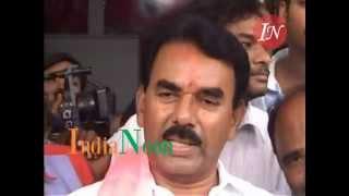 TRS MLA Jupalli Krishna Rao from Kollapur Celebrates Victory in Telangana Elections 2014