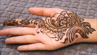 Simple Mehndi Design for Beginners, Mehndi designs for hands ,Henna mehndi designs for hands,मेहंदी