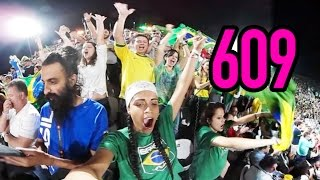 The Time Brazil Was On A Wave (DAY 609) - 360 VLOG