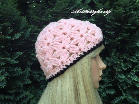 How To Crochet A Beanie Hat Pattern 289by Thepatternfamily Youtube