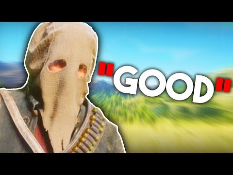 Red Dead Redemption 2 except I am a VERY GOOD GUY