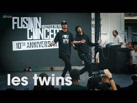Les Twins // .stance // Showcase at FUSION CONCEPT 2019