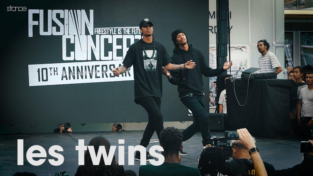 Les Twins // .stance // Showcase at FUSION CONCEPT 2019