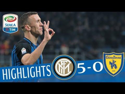 Inter - Chievo 5-0 - Highlights - Giornata 15 - Serie A TIM 2017/18