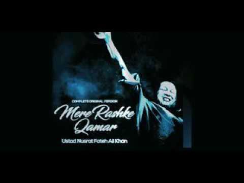 New remix 2017 Mere Rashke Qamar  Bollywood Remix    Nusrat Fateh Ali Khan   YouTube