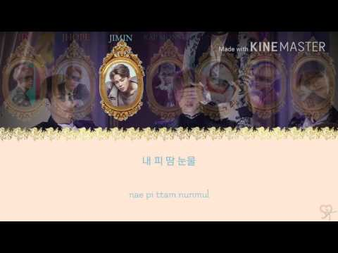 BTS (방탄소년단) - Blood Sweat & Tears [Karaoke ver.] Color Coded Lyrics [Instrumental with BG/Kpop]
